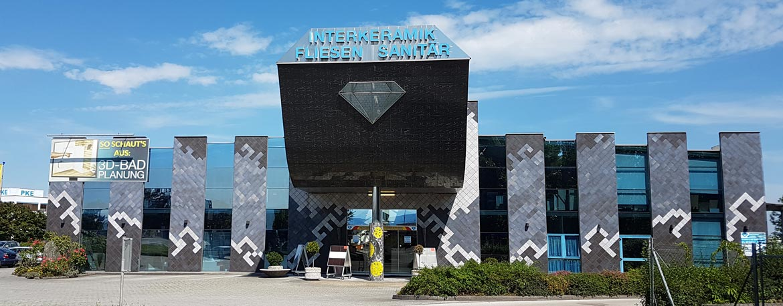 Interkeramik Gebäude Aussenansicht